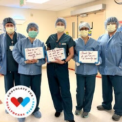 World's Finest Chocolate: Chocolate for Healthcare Heroes