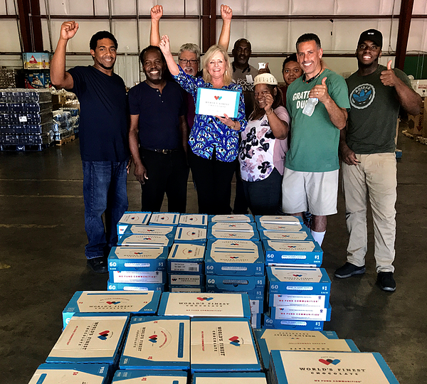 Hurricane Flo Relief - Cathy Kitterman with WFC